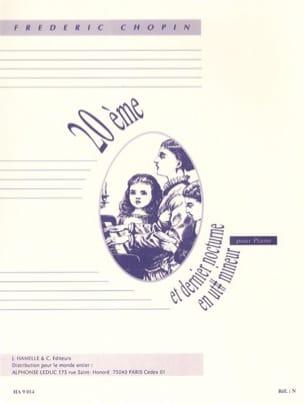 CHOPIN - 20ème Nocturne en Do dièse mineur - Partition - di-arezzo.fr