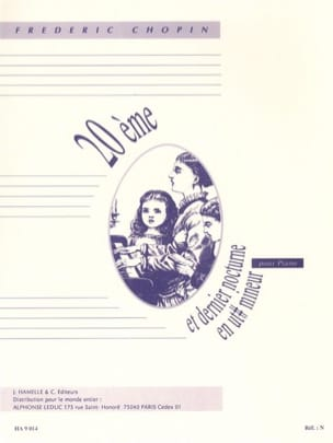 CHOPIN - 20th Nocturne in C sharp minor - Sheet Music - di-arezzo.com
