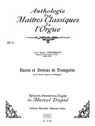 Clérambault Louis-Nicolas / Dupré Marcel - Basse Et Dessus De Trompette - Partition - di-arezzo.fr