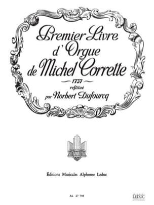 Corrette Michel / Dufourq Norbert - Livre D'orgue N°1 - Partition - di-arezzo.fr