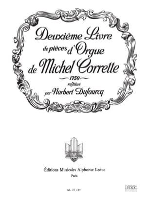 Corrette Michel / Dufourcq Norbert - Livre D'orgue N°2 1750 - Partition - di-arezzo.fr
