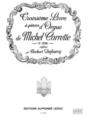 Livre D'orgue N°3 Volume 1 - laflutedepan.com