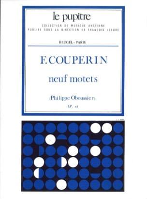 9 Motets - Couperin François / Oboussier Philippe - laflutedepan.com