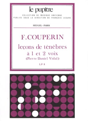 Couperin François / Vidal Pierre Daniel - 3 Lessons of Darkness - Sheet Music - di-arezzo.co.uk