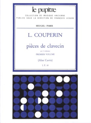 Couperin Louis / Curtis Alan - Harpsichord Pieces. Volume 1 - Sheet Music - di-arezzo.co.uk