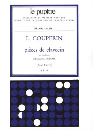 Couperin Louis / Curtis Alan - Pièces de Clavecin Volume 2 - Partition - di-arezzo.fr