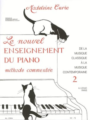 Madeleine Curie - Nouvel Enseignement Du Piano Volume 2 - Partition - di-arezzo.fr