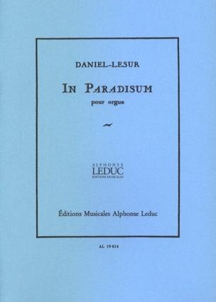 Daniel-Lesur - In Paradisum - Partition - di-arezzo.fr