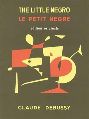 DEBUSSY - Little Negro. 4 Hands - Sheet Music - di-arezzo.co.uk