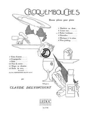 Claude Delvincourt - Omelette Au Rhum - Partition - di-arezzo.fr