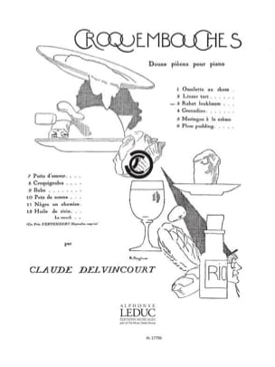 Rahat Loukhoum Claude Delvincourt Partition Piano - laflutedepan