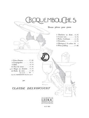 Baba Claude Delvincourt Partition Piano - laflutedepan