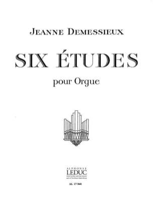 Jeanne Demessieux - 6 Etudes - Partition - di-arezzo.fr