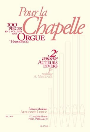 - Pour la Chapelle Volume 2 - Partition - di-arezzo.fr