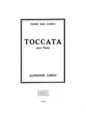 Toccata Pierre-Max Dubois Partition Piano - laflutedepan
