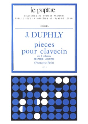 Duphly Jacques / Petit Françoise - Pieces For Harpsichord. Volume 1 - Sheet Music - di-arezzo.co.uk