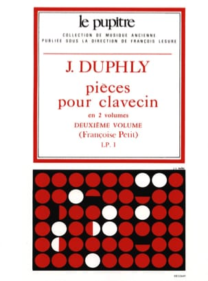 Duphly Jacques / Petit Françoise - Pieces For Harpsichord. Volume 2 - Sheet Music - di-arezzo.com