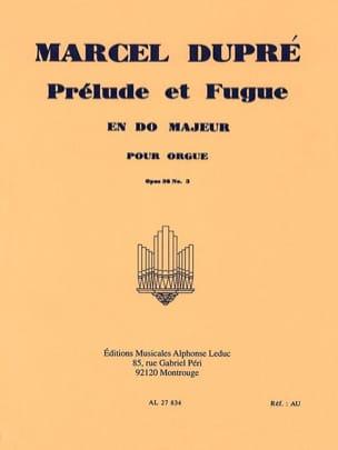 Marcel Dupré - Prelude and Fugue Opus 36-3 - Sheet Music - di-arezzo.com