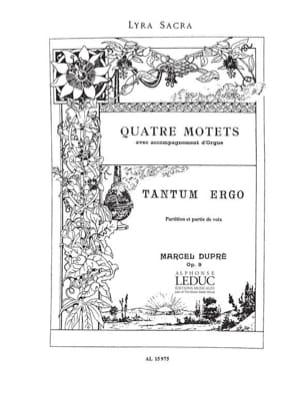 Tantum Ergo. Opus 9-3 - Marcel Dupré - Partition - laflutedepan.com