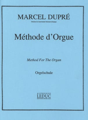 Marcel Dupré - Organ method - Sheet Music - di-arezzo.com