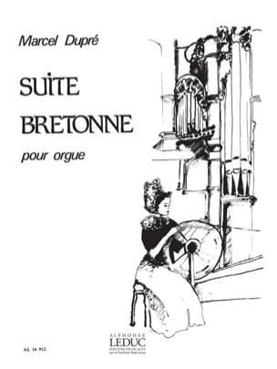 Marcel Dupré - Bretonne Suite Opus 21 - Sheet Music - di-arezzo.co.uk