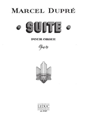 Marcel Dupré - Opus 39 Suite - Sheet Music - di-arezzo.co.uk