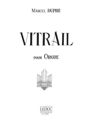 Vitrail Opus 65 Marcel Dupré Partition Orgue - laflutedepan