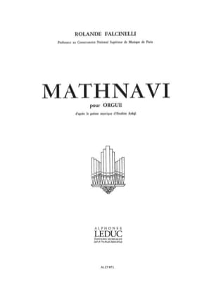 Mathnavi Op. 50 Rolande Falcinelli Partition Orgue - laflutedepan