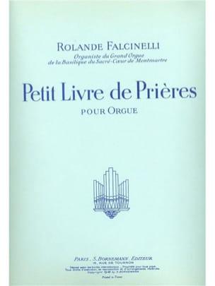 Petit Livre de Prières Rolande Falcinelli Partition laflutedepan