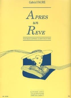 Gabriel Fauré - After a Dream - Average Voice - Sheet Music - di-arezzo.co.uk