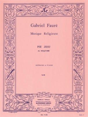 Gabriel Fauré - Pie Jesu Opus 48 - Partition - di-arezzo.fr