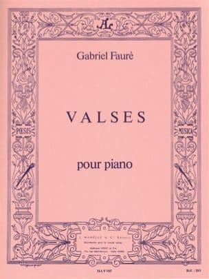 Gabriel Fauré - Valses (4 Valses Caprices) - Partition - di-arezzo.fr