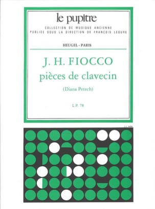 Fiocco Joseph-Hector / Petech - Harpsichord Pieces - Sheet Music - di-arezzo.co.uk