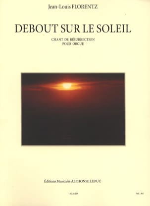 Jean-Louis Florentz - Standing on the Sun Opus 8 - Sheet Music - di-arezzo.com