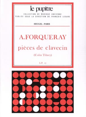 Forqueray Antoine / Tilney Colin - Harpsichord Pieces - Sheet Music - di-arezzo.co.uk