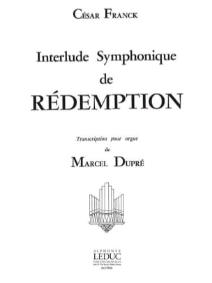 Franck César / Dupré Marcel - Symphonic Interlude of Redemption - Sheet Music - di-arezzo.com