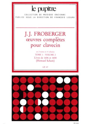 Froberger Johann Jakob / Schott Howard - Complete Works for Harpsichord. Volume 1 Volume 2 - Partition - di-arezzo.com