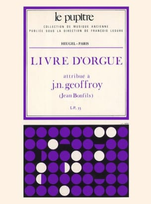 Geoffroy Jean-Baptiste / Bonfils - Organ book - Sheet Music - di-arezzo.co.uk