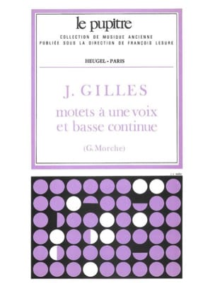 Gilles Jean / Morche Gunter - Motets Has 1 Voice And Bass Continue - Sheet Music - di-arezzo.com
