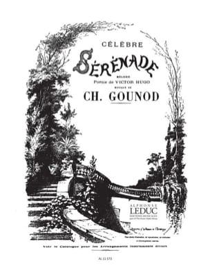 Charles Gounod - Célèbre Sérénade. Voix Moyenne - Partition - di-arezzo.fr