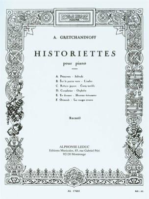 Historiettes Opus 118 Alexander Gretchaninov Partition laflutedepan