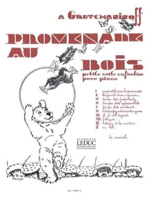 Alexander Gretchaninov - Promenade Au Bois Opus 143 - Partition - di-arezzo.fr