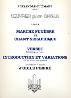 Oeuvres Pour Orgue Volume 2 - Alexandre Guilmant - laflutedepan.com