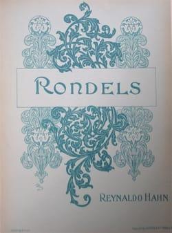 Reynaldo Hahn - rondels - Partitura - di-arezzo.es