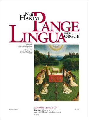 Naji Hakim - Pange Lingua - Partitura - di-arezzo.es