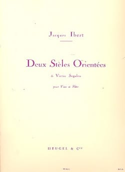 Jacques Ibert - 2 Oriented Steles - Sheet Music - di-arezzo.com