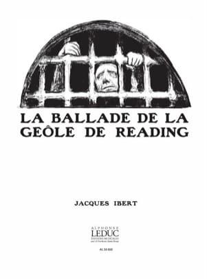 Jacques Ibert - Ballade de la Geôle de Reading. 4 Mains - Partition - di-arezzo.fr