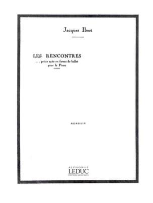 Les Rencontres Jacques Ibert Partition Piano - laflutedepan