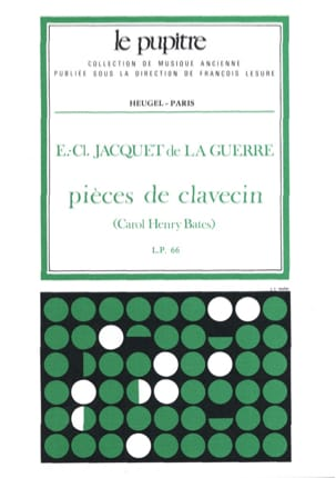Elisabeth JACQUET DE LA GUERRE / Bates Carol Henry - Harpsichord Pieces - Sheet Music - di-arezzo.co.uk