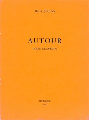 Betsy Jolas - Autour - Partition - di-arezzo.fr